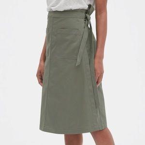 GAP Olive Green Utility Skirt